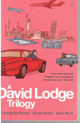 1 of 1 - David Lodge Trilogy ~ Changing Places; Small World; Nice Work; thick PB