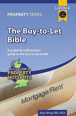 """""""AS NEW"""" The Buy-to-let Bible (Lawpack Property), Ahuja, Ajay, Book"""