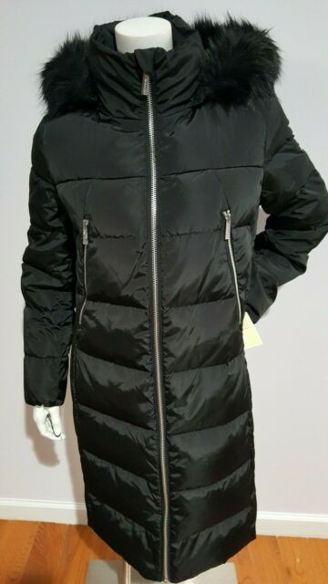 Michael Kors Faux Fur Trim Hood Puffer, Faux Fur Coat Hood Trim