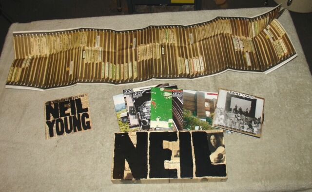 NEIL YOUNG - Neil Young Archives - Vol. I 1963-1972 - 8 CD BOX SET 2009 - Poster