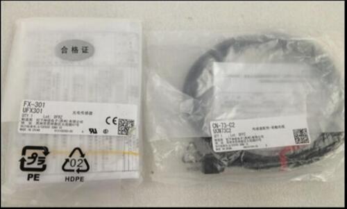 CN-73-C2 Free Shipping ONE NEW Panasonic SUNX fiber amplifier FX-301