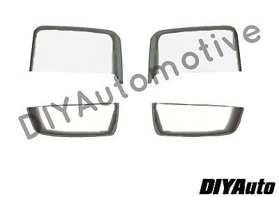 2014-2019 Style Chevy Silverado GMC Sierra Chrome GM Tow Mirror Cap Cover NEW | eBay