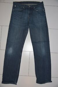 Levis-Jeans-751-blau-W33-L34-gerade-stonewashed-21117-266