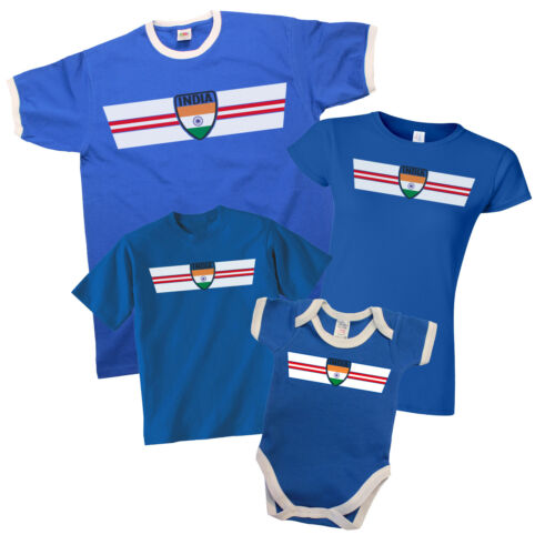 INDIA Cricket World Cup 2019 T-Shirt *Choice Of MENS LADIES KIDS BABY GROW*