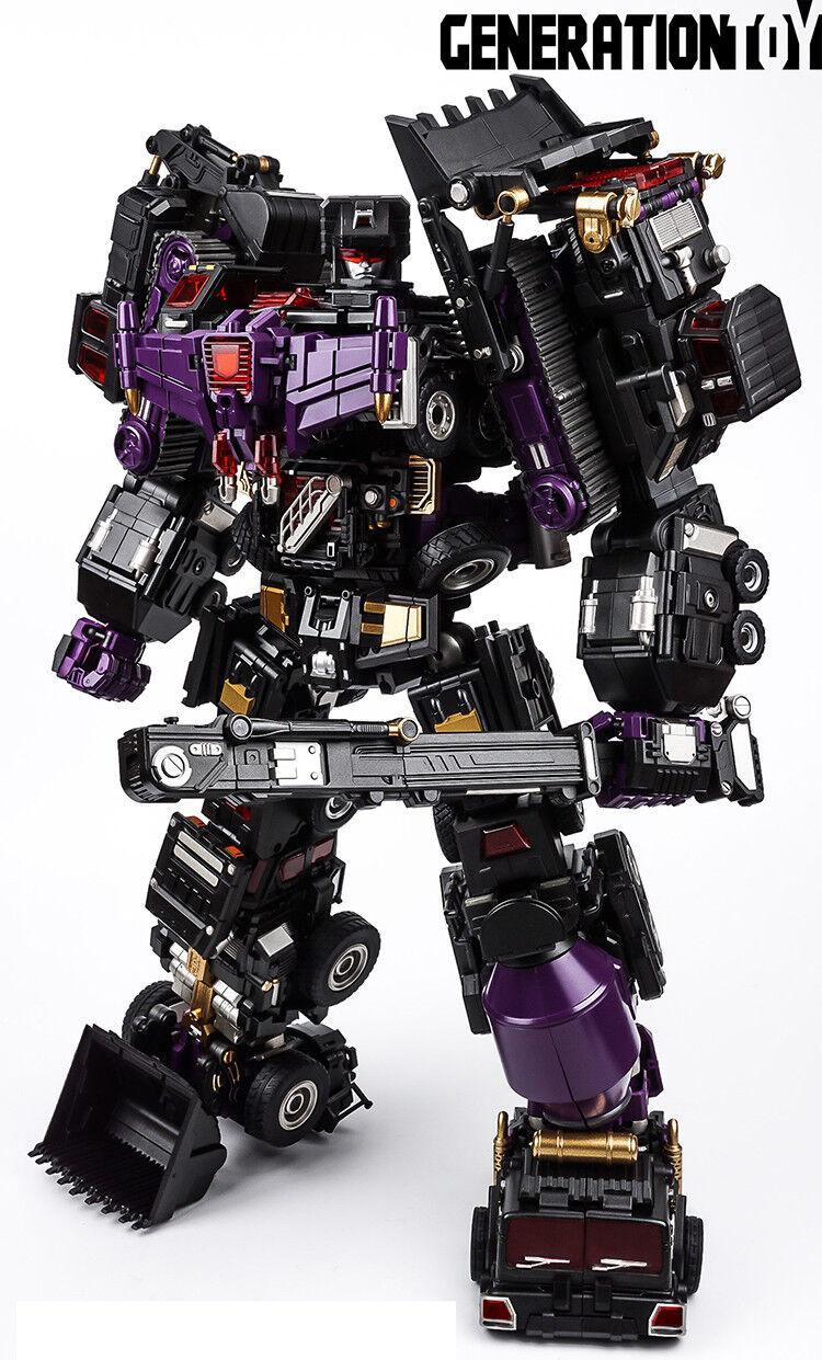 In  Generazione dei transFORMers a uomoo  dei giocattoli GT-88  nero Judge devastator