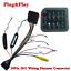 ISO-20Pin-Arnes-de-cableado-Conector-Con-Adaptador-de-camara-de-vision-trasera-para-auto-Stereo-DVD miniatura 1