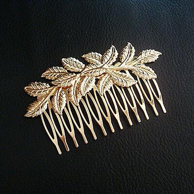Small Hair Comb Slides Classic Metal Wedding Bridal Embellishment Charm Elegant