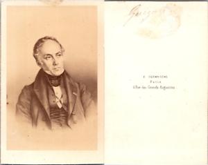 CDV-Desmaisons-Paris-Francois-Guizot-historien-et-homme-d-039-Etat-francais