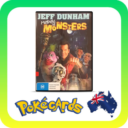 1 of 1 - JEFF DUNHAM - MINDING THE MONSTERS -  DVD & R4 - FREE POST !!!