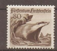 LIECHTENSTEIN SG285 1946 80r BROWN MTD MINT