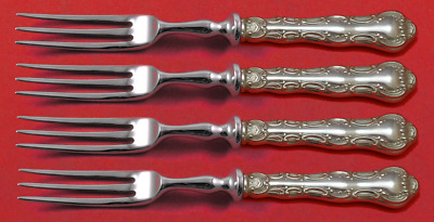 Golden Wheat by Gorham Sterling Silver Fruit Fork Hollow Handle Ws 7 14