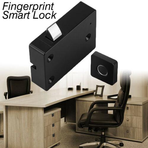 Home Office Automatic Closet Drawer Storage Door Lock Smart Security Fingerprint