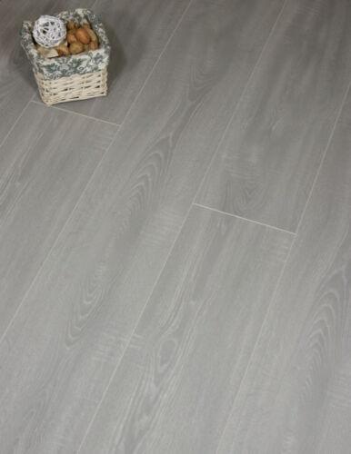 Grey Toscolano Oak Waterproof laminate Flooring Packs Click AC4 8mm Egger Aqua
