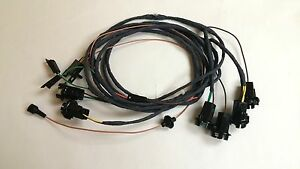s l300 1966 chevy caprice rear light wiring harness 2dr hardtop sport coupe