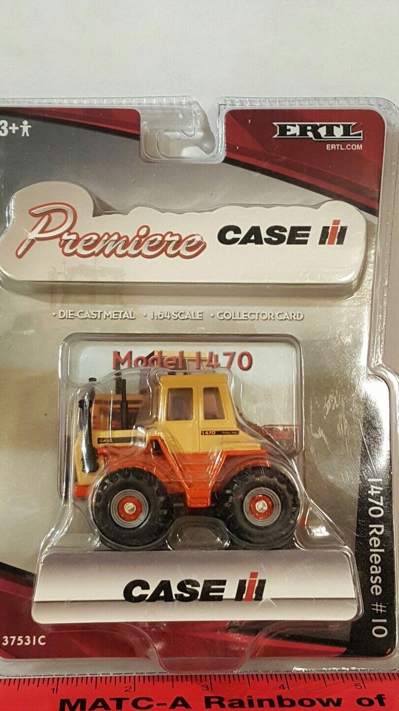 Ertl Case 1470 4x4 1 64 diecast farm tractor replica collectible