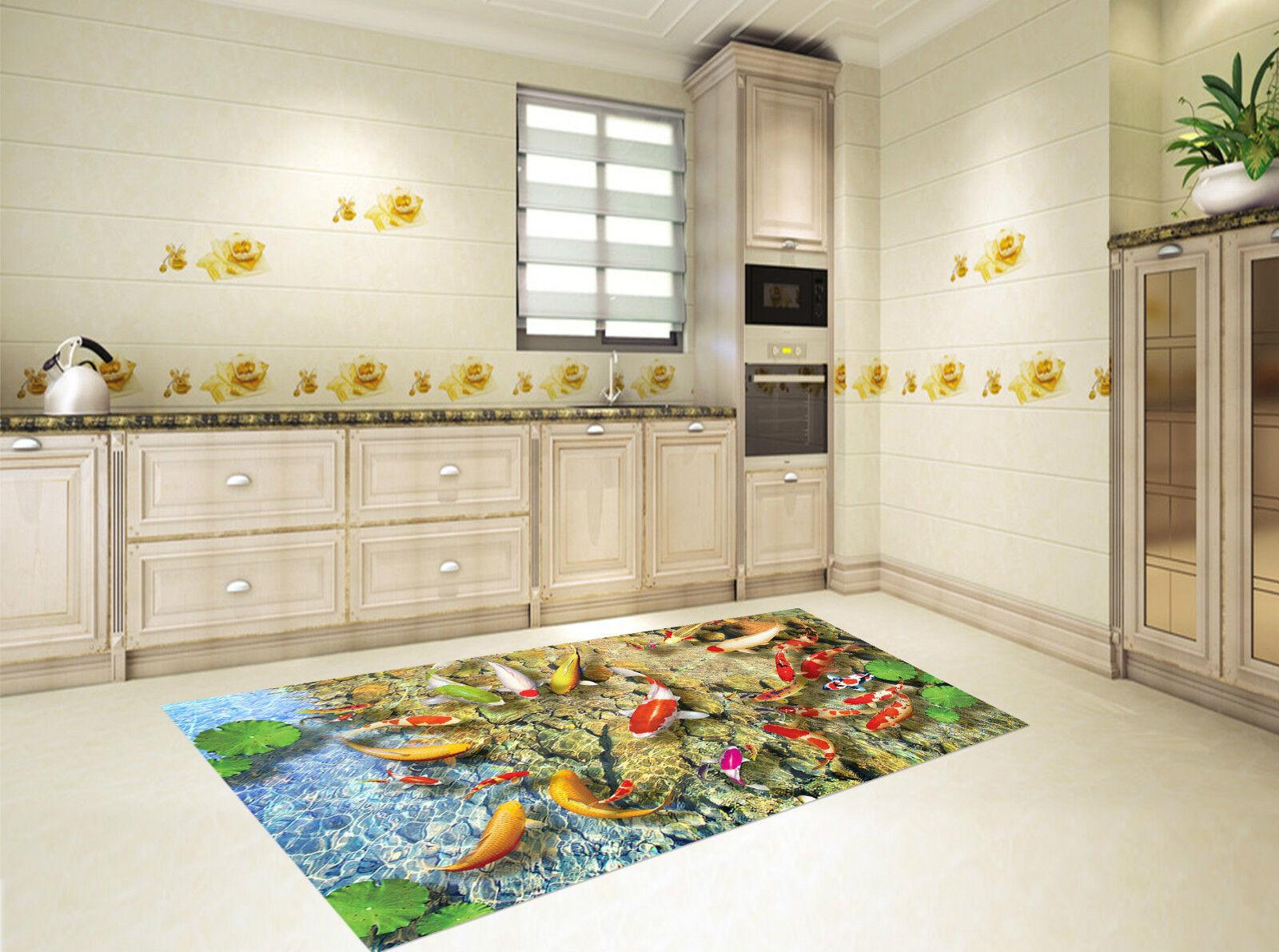 3D Lac Poissons Colorés 276 De Décor Mural Murale De 276 Mur De Cuisine AJ WALLPAPER FR e9ed13