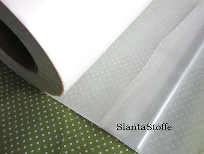 B/ügeleinlage 3,5cm anthrazit Slantastoffe 5m Stanzband Anthrazit wei/ß