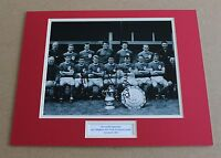 LIVERPOOL 65 YEATS CALLAGHAN SMITH SIGNED AUTOGRAPH PHOTO MOUNT + COA PROOF