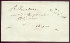 SCHWAEB HALL 1840 VORPHILABRIEF(D1743