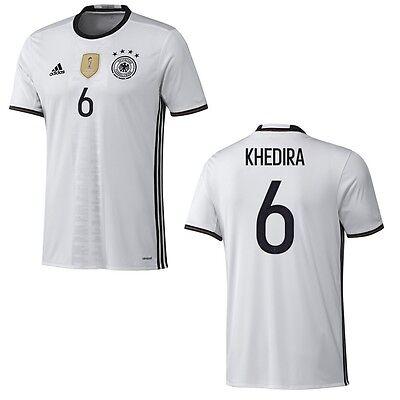adidas DFB Home 4 Sterne Deutschland Heimtrikot mit Beschriftung weiß EM 2016