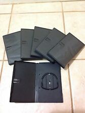 Sony Black Game BOX Cases W/ Sleeve for UMD SONY PSP Game Box Multiple Lot