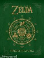Hyrule Historia Legend Of Zelda Hardcover Nintendo Exclusive Hc Mint Sealed