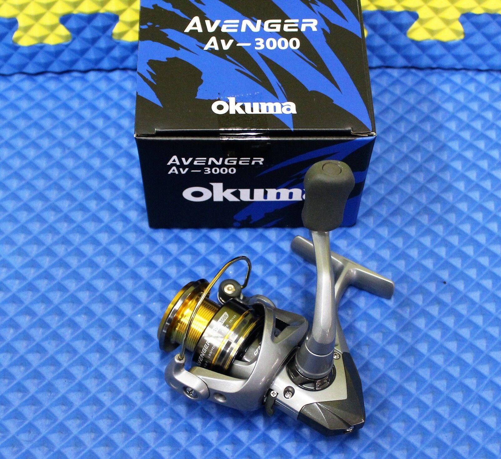 Okuma Avenger AV-3000 Spinning Reel NEW FOR 2019 AV-3000