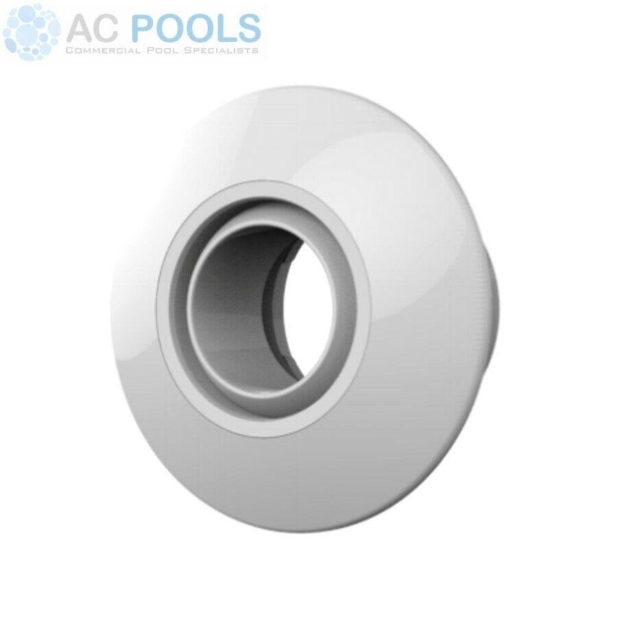 Spa Electrics Eyeball Return Fitting (White) 40mm Push In (EB-C409W)