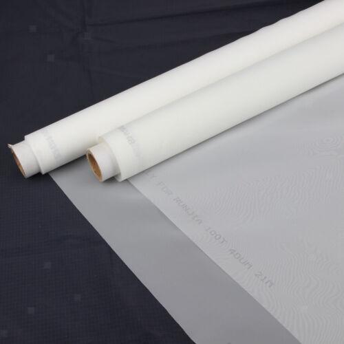 200M White Polyester Silk Screen Printing Mesh 1m x 1.45m
