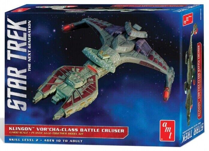 Amt 1 1400 Estrella Trek Klingon Vor' Cha-Class Battle Cruiser  1027