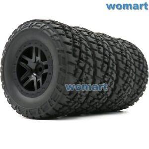 2pcs RC 1//10 2.2//3.0 Short Course Buggy Reifen Tires /& Felgen Wheel Rim Hex 12mm