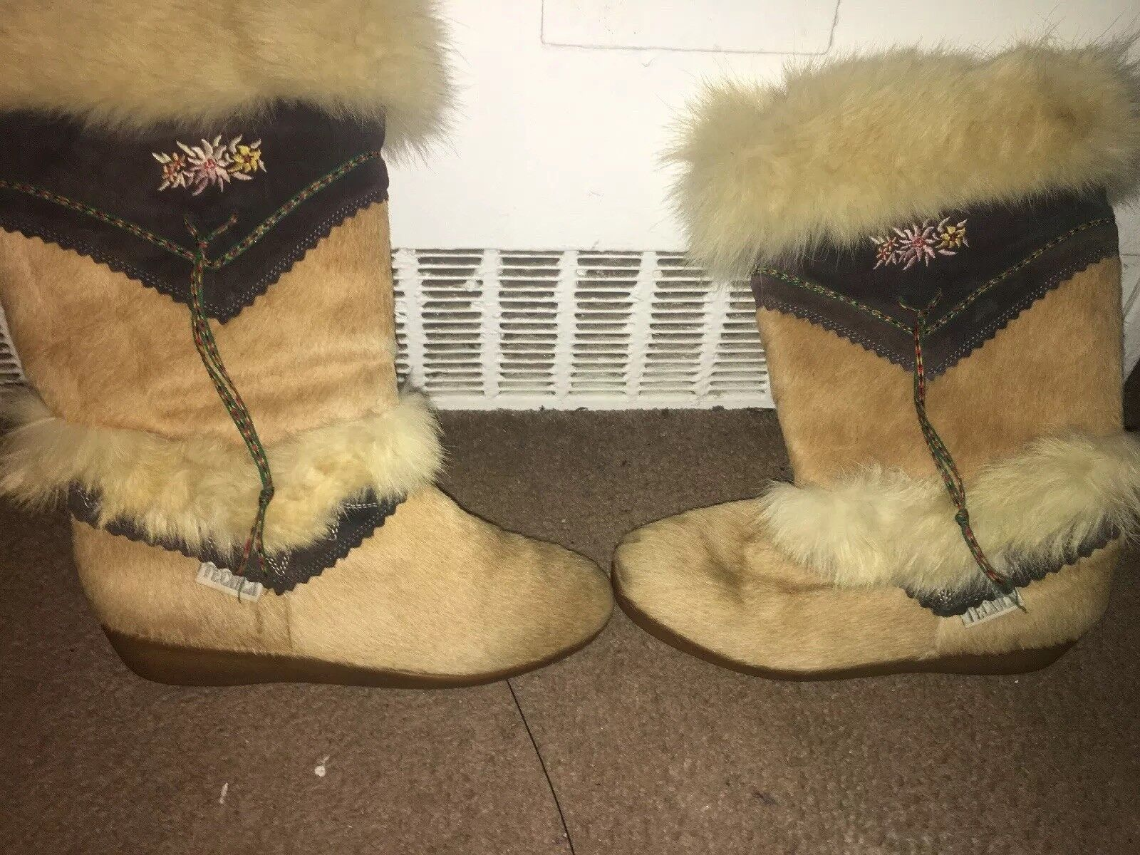 TECHNICA FUR WINTER BOOTS  Women SZ 40 MADE IN ITALY