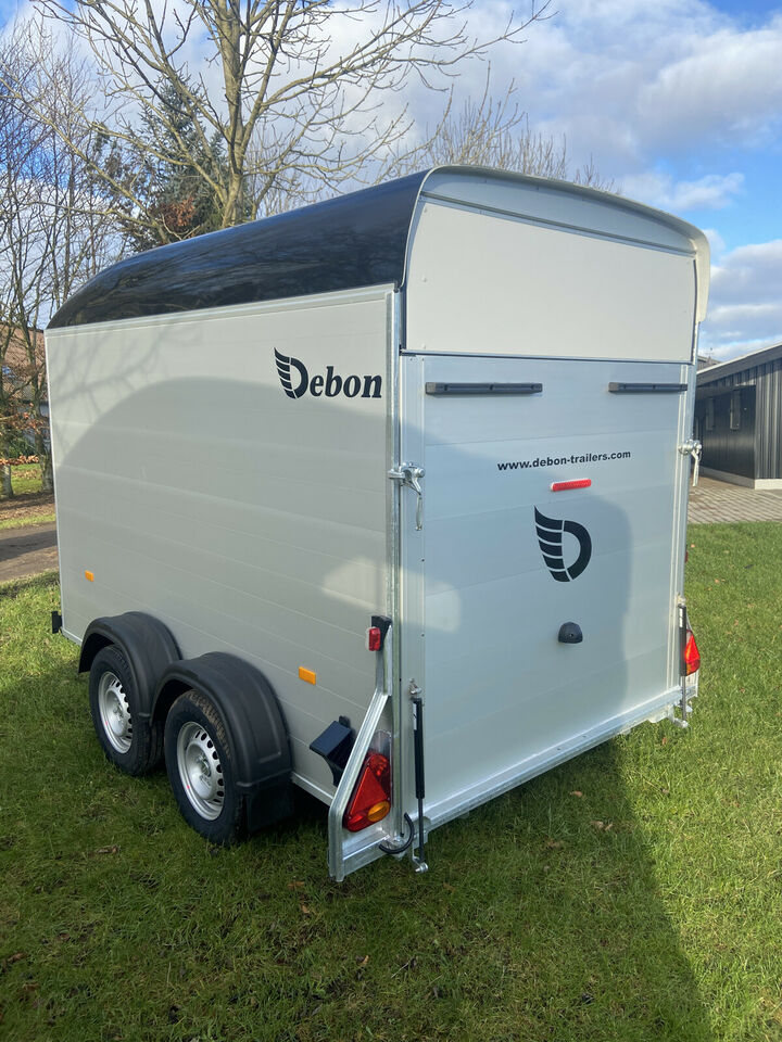 Debon Box Trailer C500 m/ Alusider + dør