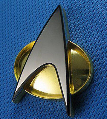 Star Trek The Next Generation Communicator Magnetic Badge Replica Ebay