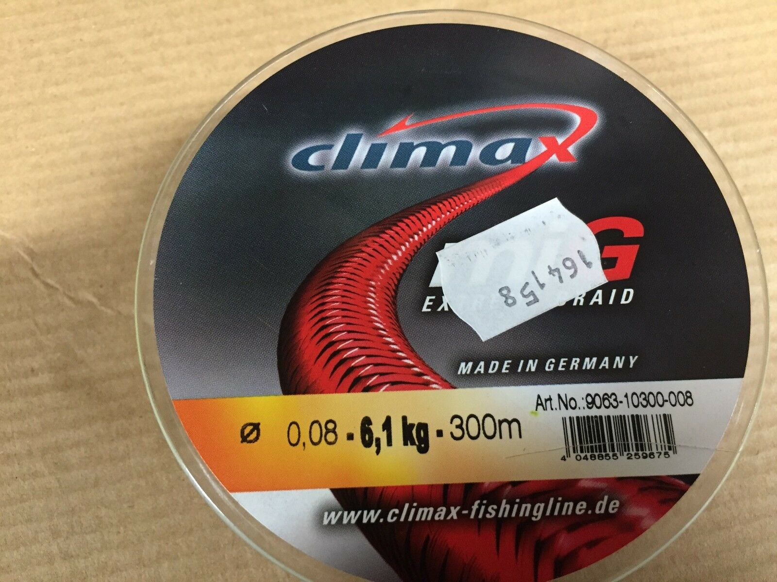 Climax miG extreme Braid 0.08mm 6.1Kg 300m 164158 made in Germany fishing line