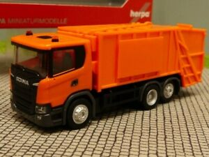 orange 309776 Herpa LKW Scania CG 17 4x4 SZM