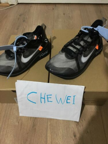 Zoom 5 Sp Ten' Silver Nike Off Deadstock Uk6 Black New Fly Us7 white 'the X 5 TqFw56