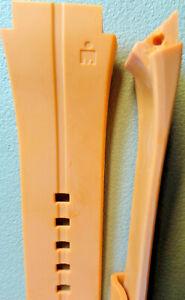 New Mens Timex 20mm Elite 100m T5K351 Orange Ironman Triathlon Watch Band