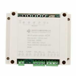 4CH-Wireless-Control-WIFI-Relay-Module-AC-220V-Smart-Switch-for-DIY-Smart-Home