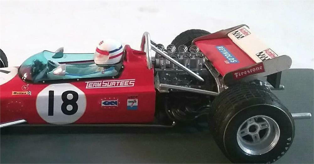 Surtees TS7 No.18 US Grand Prix 1970 à l'échelle 1 43 par Spark