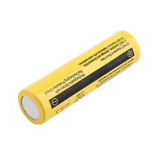 1pc Yellow 3.7V 18650 9800mAh Li-ion Rechargeable Battery For Flashlight Torch~F