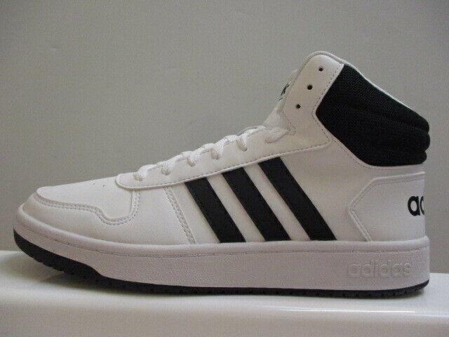 adidas Hoops Mid Leather Mens Trainers UK 8 US 8.5 EUR 42 REF 1331*
