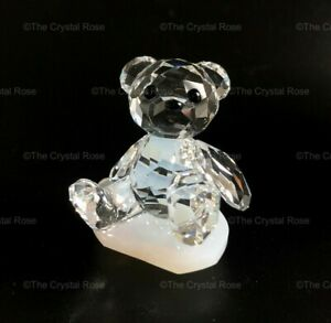 RARE-Retired-Swarovski-Crystal-Kris-Bear-Perfectly-Happy-1016618-Mint-Boxed