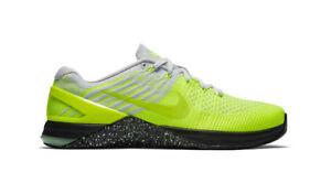 Men's NIKE Metcon DSX Flyknit TRAINING Shoes Size 7.5-13 Volt Green (852930 701)