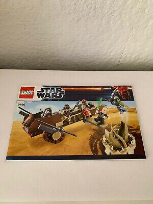 1 x Lego System Bauanleitung  A5  für Star Wars Episode 4//5//6 Droid Escape 9490