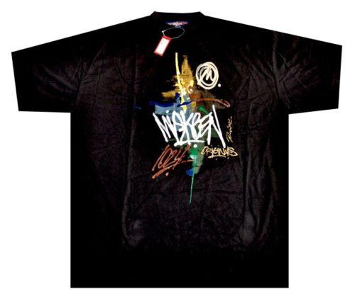 2XL - 5XL Miskeen Original Hand Painted T-Shirt T-Shirts Hip-Hop Collection
