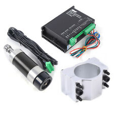 New Listingbrushless Spindle Motor 500w Er16 Motor Driver 55mm Clamp For Cnc Router 48v Dc