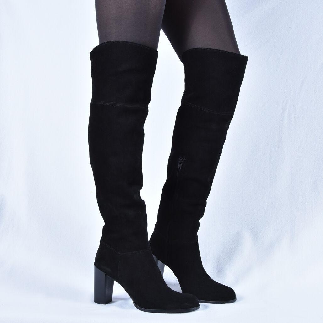 Grandes zapatos con descuento WALK AND LOVE DAMEN STIEFEL STIEFELETTEN LEDER BOOTS SCHWARZ NEU 37 38 39 40