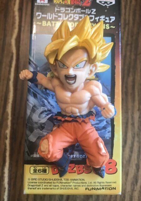 Dragon Ball Z Battle of Saiyans Vol 3 Super Saiyan Goku WCF PVC Figure