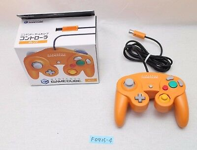 [Free track ship] Gamecube Controller Orange box Nintendo official wii work 2